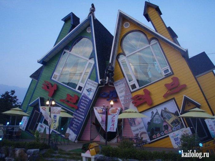 Աշխարհի ամենատարօրինակ տներն ու կառույցները. լուսանկարներ