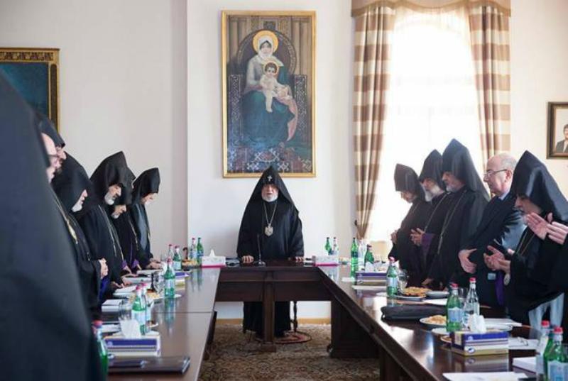Մայր Աթոռում մեկնարկել է Գերագույն հոգևոր խորհրդի ժողովը