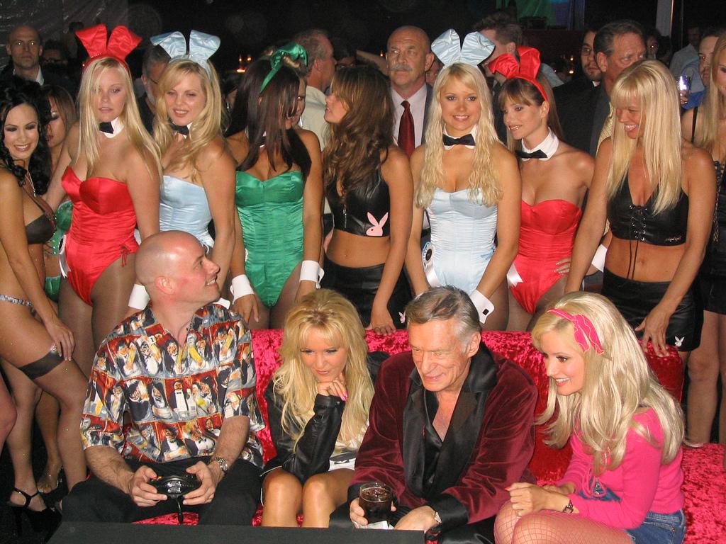 Playboy-ի հիմնադրի կազմակերպած միջոցառումը Halloween-ին ընդառաջ (լուսանկարներ)