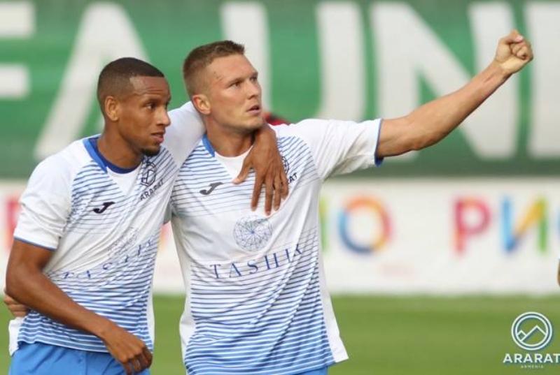 «Արարատ-Արմենիա»-ն հաղթեց Եվրոպայի լիգայի երկրորդ տուրի առաջին խաղում