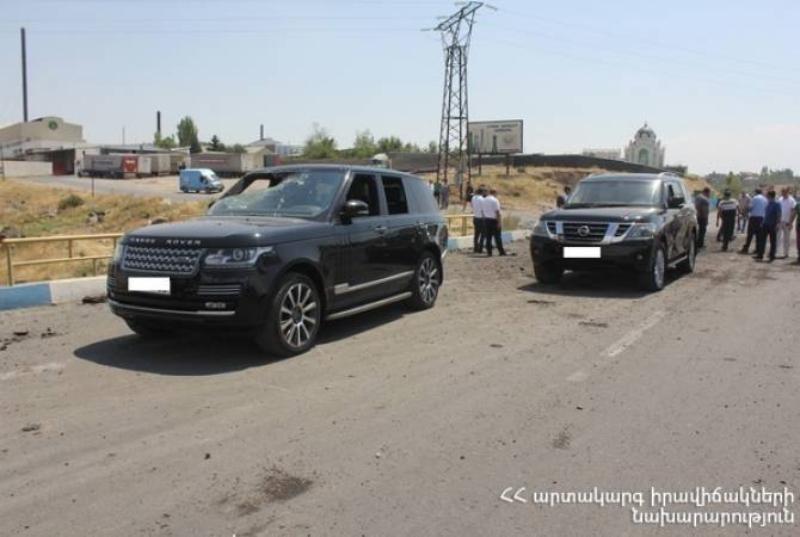 Հակառակ ոստիկանների ցուցումներին՝ Երևան-Սևան մայրուղում գրանցված պայթյունի վայրից մեքենան փախցրած անձը կալանավորվեց