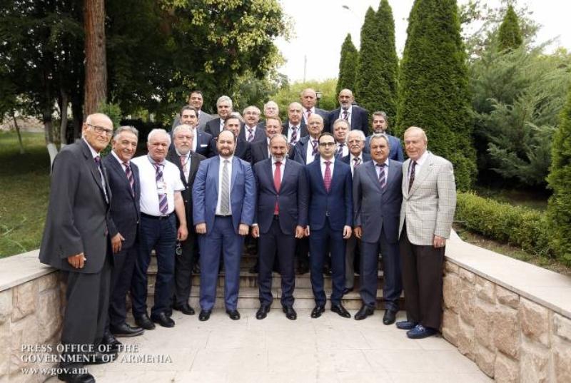 Վարչապետը հանդիպել է Համահայկական խաղերի համաշխարհային կոմիտեի ներկայացուցիչներին