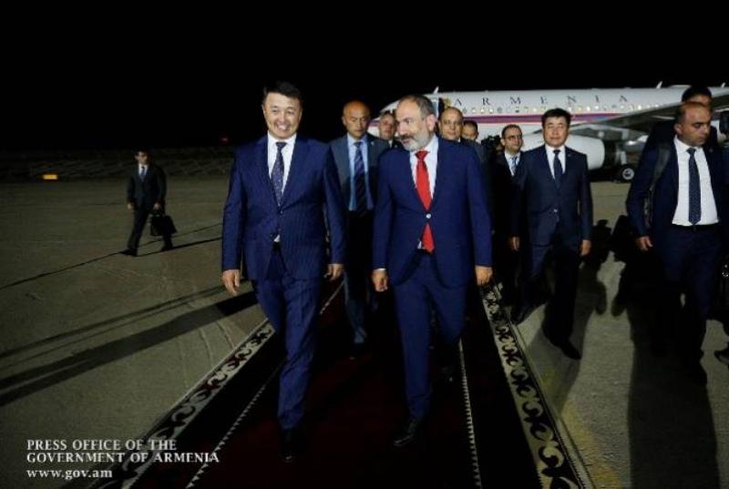 ՀՀ վարչապետ Նիկոլ Փաշինյանն աշխատանքային այցով ժամանել է Ղրղզստան (տեսանյութ)