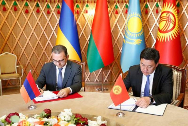ՀՀ-ն ու Ղրղզստանը ստորագրել են եկամտի կրկնակի հարկումը բացառելու մասին համաձայնագիրը