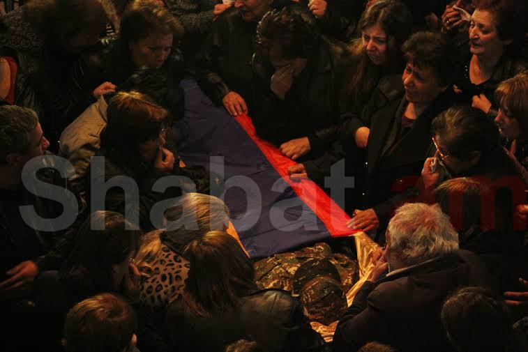 Տեղի է ունեցել հակառակորդի կողմից սպանված Սասուն Ֆահրադի հուղարկավորությունը