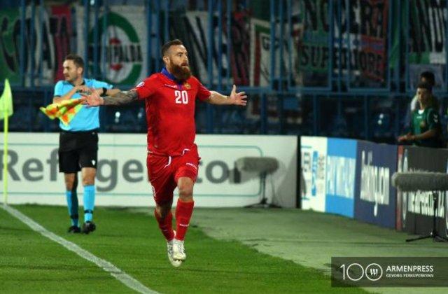 Հայաստան-Իտալիա՝ 1:1. առաջին խաղակես. Հավաքականը մնաց 10 ֆուտբոլիսով