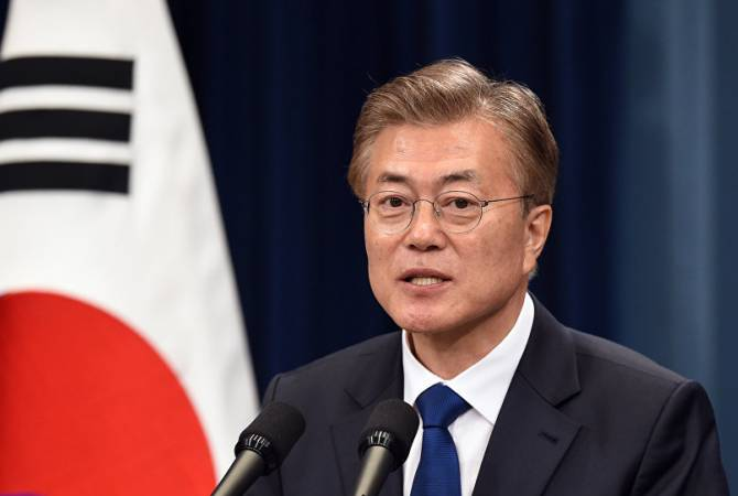 Հարավային Կորեայի նախագահը հայտարարել է, որ կարող է հասնել նրան, որ Հյուսիսային Կորեան ազատվի ՄԱԿ-ի պատժամիջոցներից