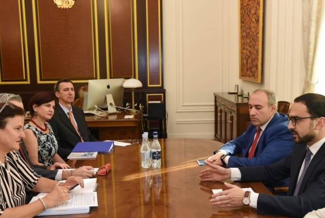 ԵՄ-ն շարունակելու է լայն աջակցության ցուցաբերել ՀՀ-ին. Տիգրան Ավինյանն ընդունել է Կատարինա Մատերնով