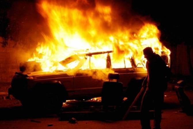 Երևան-Սևան ավտոճանապարհին այրվել է ավտոմեքենա