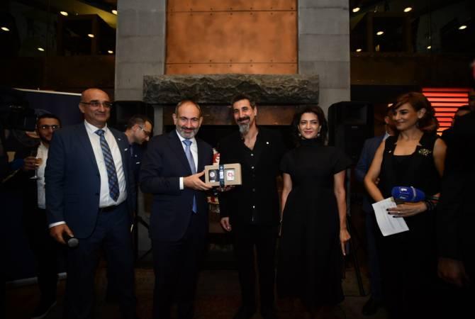 Սերժ Թանկյանը Երևանում ներկայացրեց իր Gavat ապրանքանիշի սուրճը