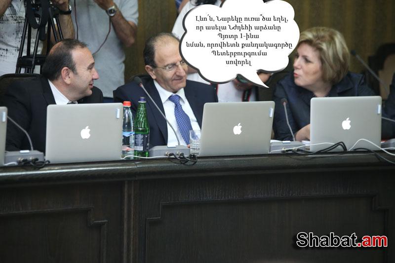 Ամենազվարճալի լուսանկարները կառավարության նիստից (ֆոտոշարք)