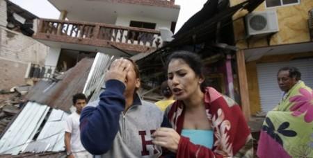 Էկվադորում տեղի ունեցած երկրաշարժից հետո ավելի քան մեկուկես հազար մարդ է կորել