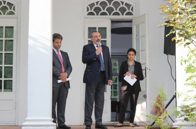 Մեկնարկել է ԼՂՀ արտաքին գործերի նախարարի աշխատանքային այցը Դանիայի Թագավորություն