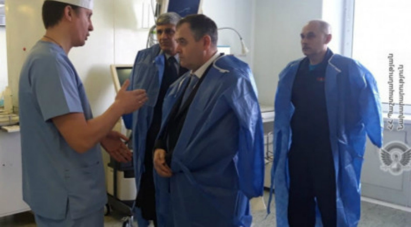 Սիրիայում վիրավորում ստացած հայ սակրավորին Սիրիայի հոսպիտալից տեղափոխել են Մոսկվա