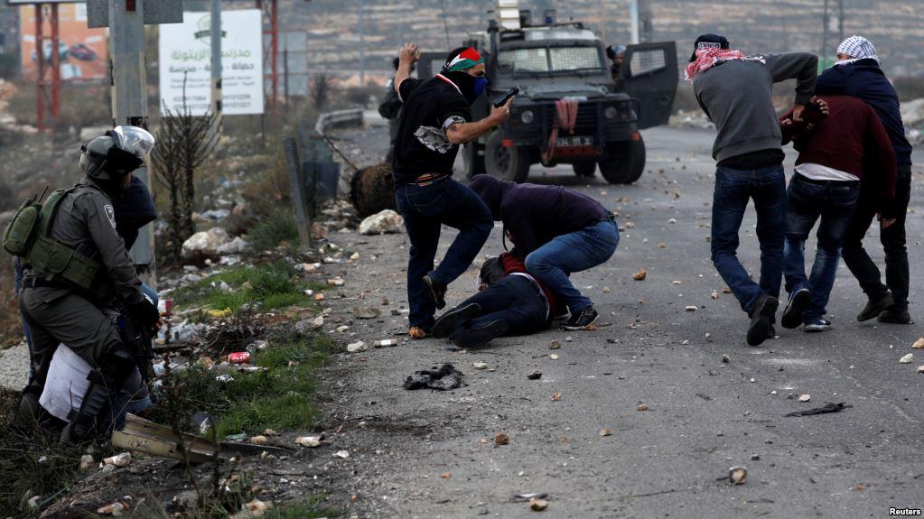112 պաղեստինցի է տուժել իսրայելցիների հետ բախման հետևանքով