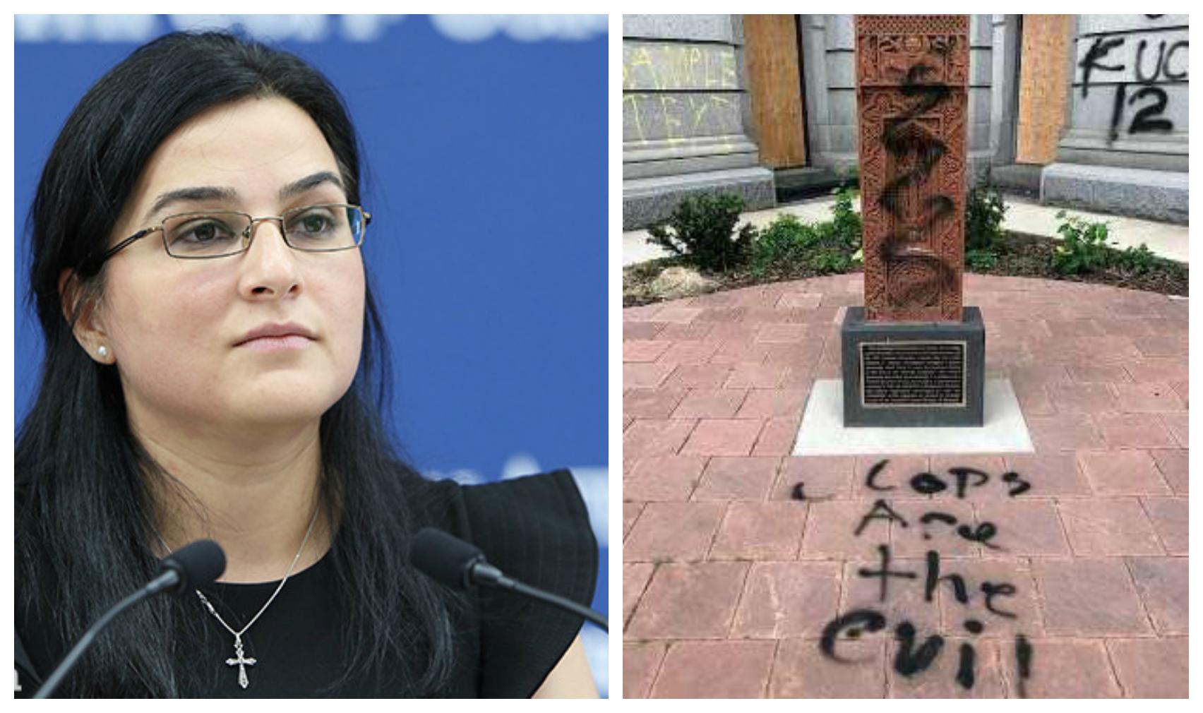 Ե՞րբ առաջվա տեսքը կստանա ԱՄՆ-ում պղծված  հայկական խաչքարը. ԱԳՆ խոսնակը պարզաբանում է