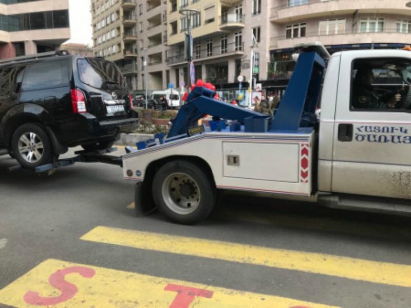Չնախատեսված վայրում կայանած ավտոմեքենաները տարհանվել են