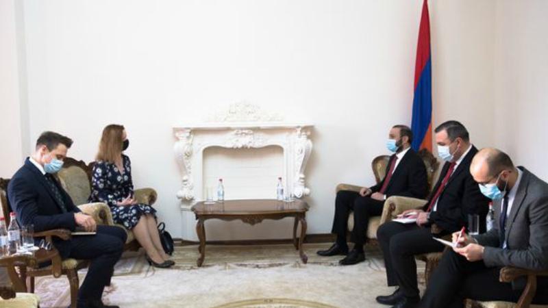 ՀՀ ԱԽ քարտուղարը ՄԹ գործերի ժամանակավոր հավատարմատարին ներկայացրել է Ադրբեջանի ագրեսիան