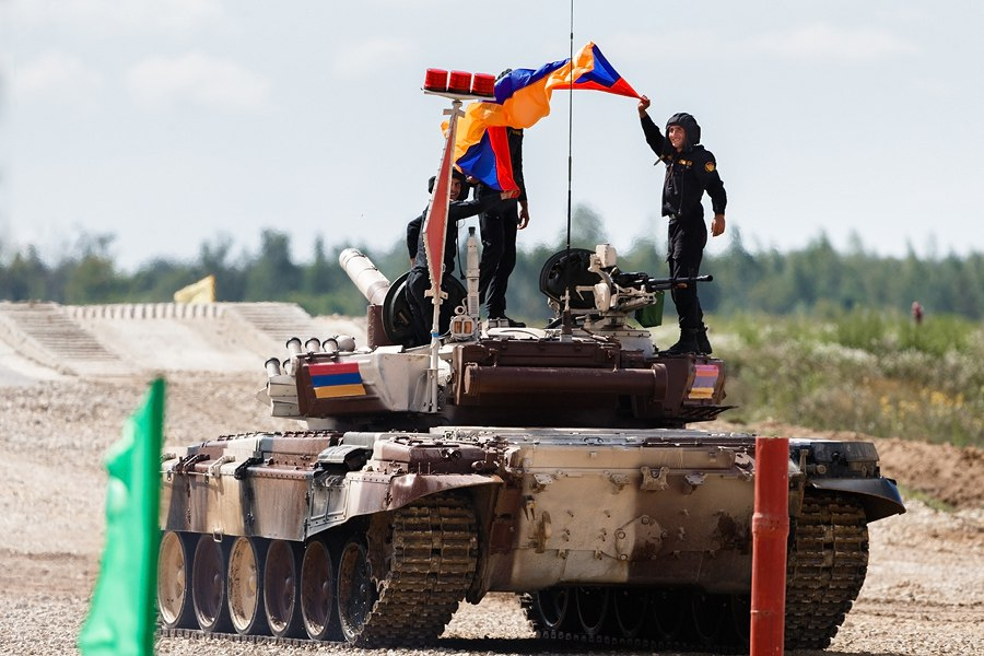 Հայ տանկիստները Միջազգային բանակային խաղերում պահպանում են առաջատար դիրքերը