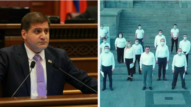 Նրանց նպատակն է մեր նորագույն պատմության համար այս օրհասական պահին Հայաստանի քաղաքացիներին մատնել հուսահատության, ապականել քաղաքական դաշտը. Արման Բաբաջանյան