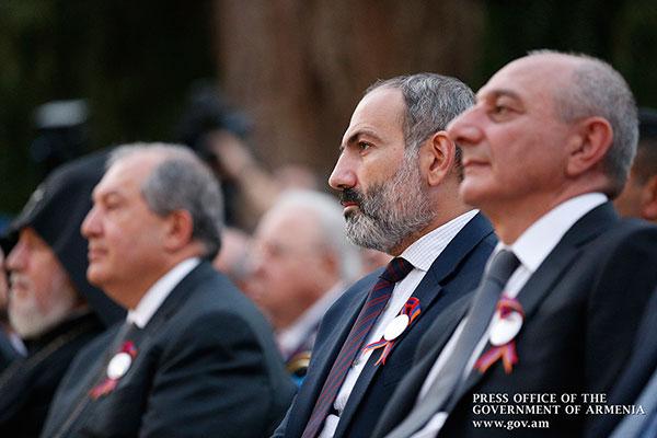 Բակո Սահակյանն Անկախության օրվա առթիվ շնորհավորել է Նիկոլ Փաշինյանին և Արմեն Սարգսյանին