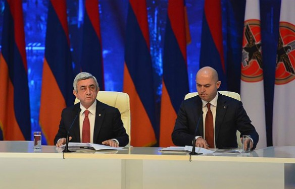 Այսօր Սերժ Սարգսյանն Աշոտյանի հետ կմեկնի Բելգիա. «Հրապարակ»