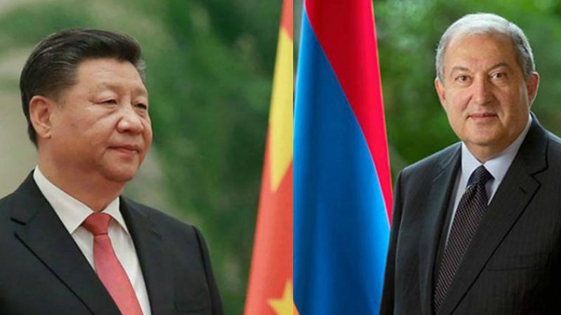 Չինաստանի նախագահ Սի Ծինփինը շնորհավորել է Արմեն Սարգսյանին