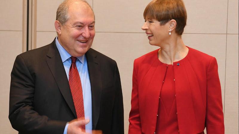 Էստոնիան աջակցություն է փոխանցել «Հայաստանի մանուկներ» հիմնադրամին՝ համավարակի դեմ պայքարի համար. նախագահները զրուցել են
