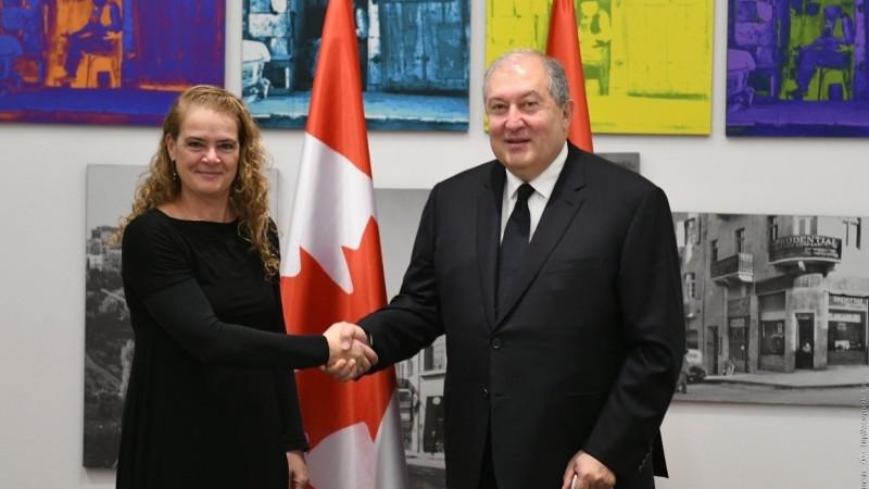 Երախտագիտություն եմ հայտնում Կանադայի կառավարությանը Թուրքիային ռազմական սարքավորումներ տրամադրելու արտոնագրից զրկելու որոշման համար. նախագահ