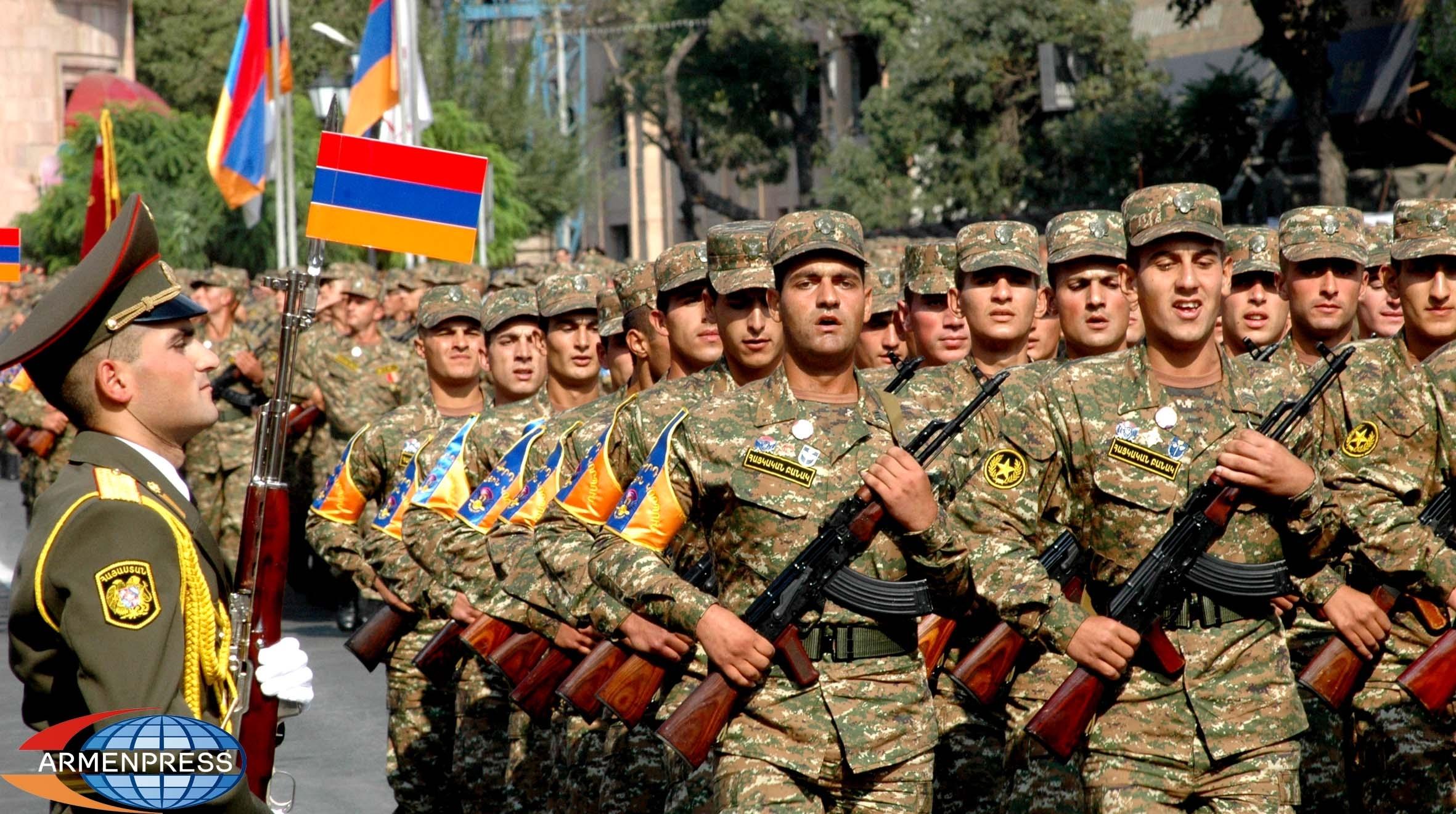 Այսօր Հայաստանը նշում է բանակի կազմավորման 27-րդ տարեդարձը