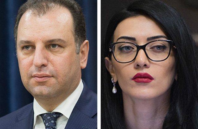 Վիգեն Սարգսյանը և Արփինե Հովհաննիսյանը համատեղ հայտարարություն են տարածել