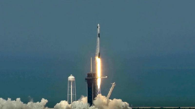 Crew Dragon տիեզերանավը արձակվեց 2 հոգանոց անձնակազմով