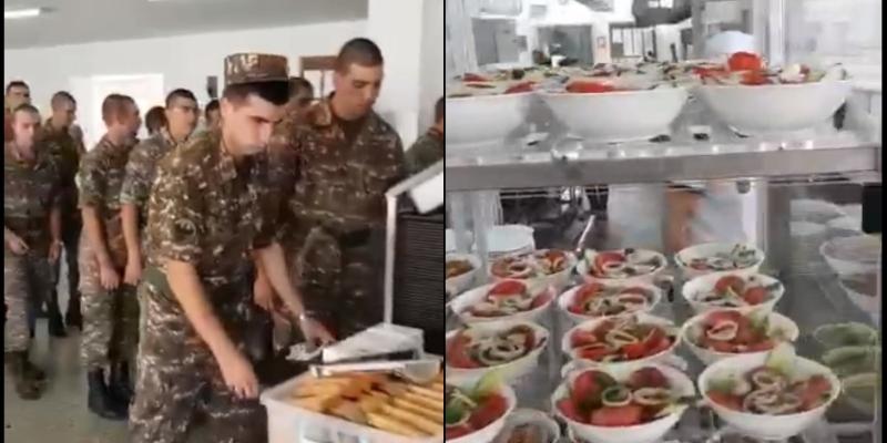 Նոր Հայաստանը այսպես է կերակրում իր զինվորներին. Նիկոլ Փաշինյան (ուղիղ եթեր)