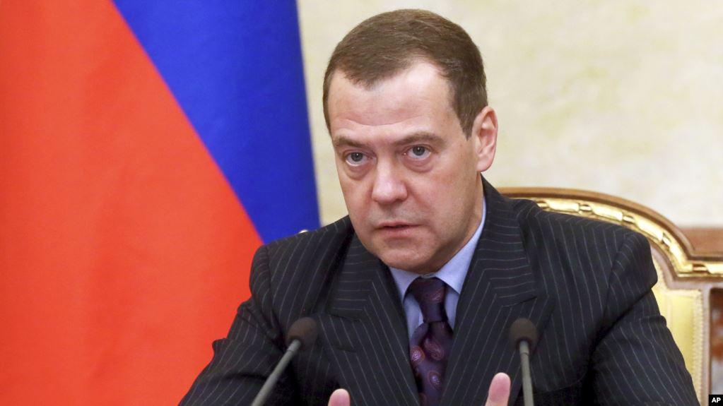 Մեդվեդևը պատասխանել է Վրաստանի նախագահի մեղադրանքներին