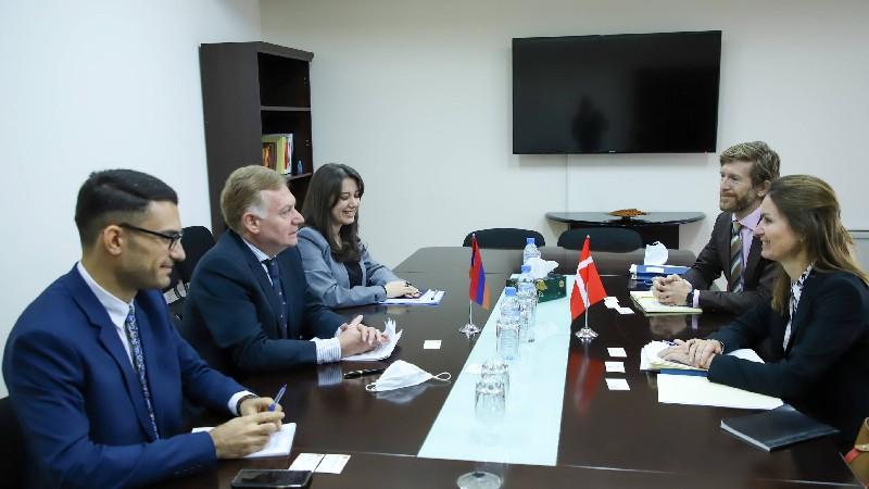 Քաղաքական խորհրդակցություններ Հայաստանի և Դանիայի ԱԳ նախարարությունների միջև