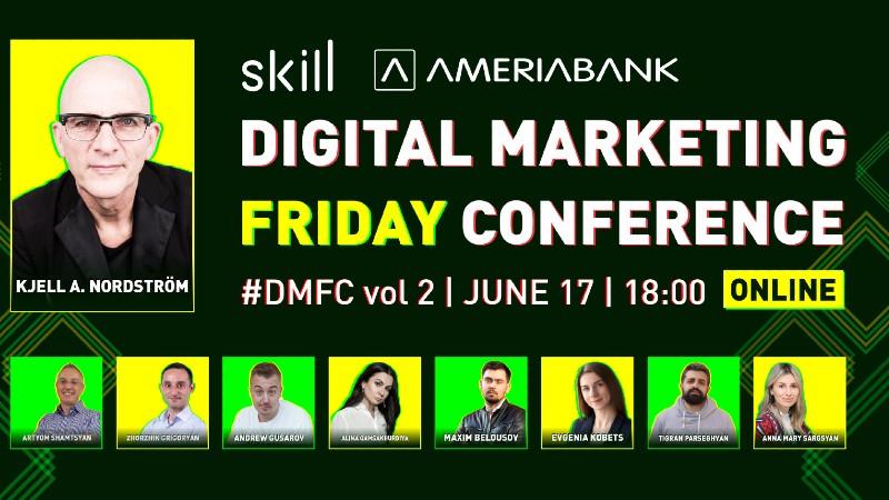 Այսօր կկայանա Digital Marketing Friday Conferance-ը