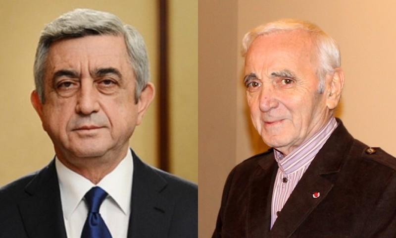 Նա մարմնավորեց հայ ազգի ճակատագիրը.Սերժ Սարգսյանի ցավակցական ուղերձը