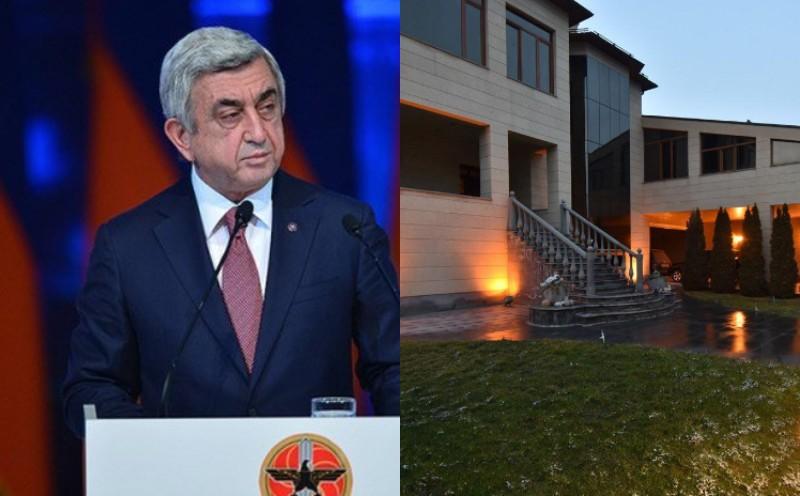Սերժ Սարգսյանը հրաժարվել է առանձնատան ևս մեկ առաջարկից.( լուսանկարներ)