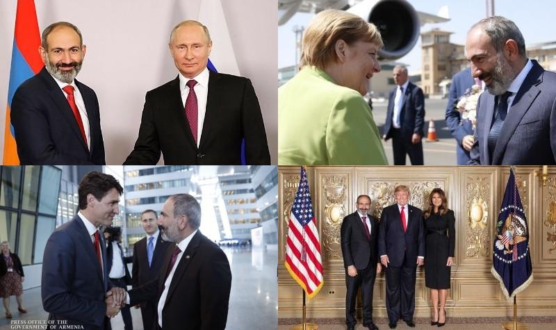 ՆԱՏՕ-ից մինչև Ֆրանկոֆոնիա. վարչապետի ամենակարևոր հանդիպումները` լուսանկարներով