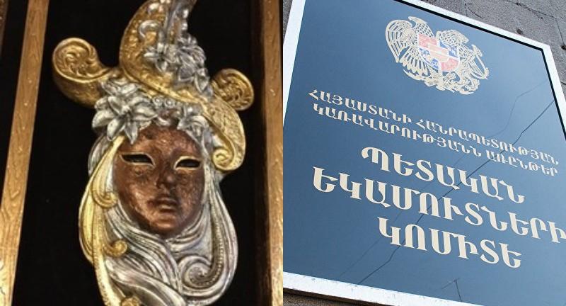 Իրանի քաղաքացին փորձել է 13,7 կգ քաշով թմրանյութից պատրաստված կնոջ դիմապատկերով 4 քանդակ արտահանել. ՊԵԿ