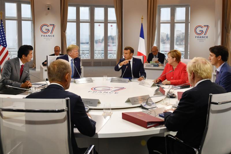 Զարիֆի անակնկալ այցը, Թրամփի վեճը գործընկերների հետ. G7-ը շարունակվում է