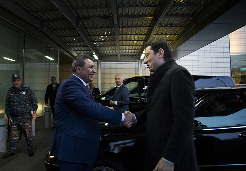Վրաստանի ՆԳՆ պատվիրակությունը  ժամանեց  Հայաստան (լուսանկարներ)