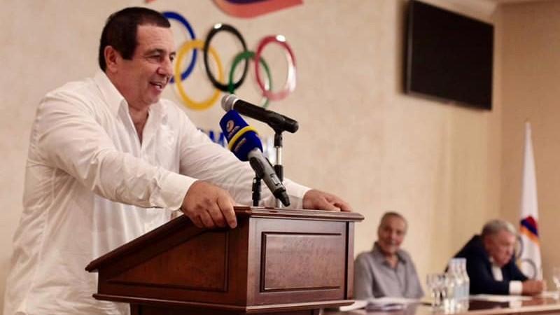 Մեծ պատիվ է ՀԱՕԿ նախագահի պաշտոնում վերընտրվելը. Գագիկ Ծառուկյան