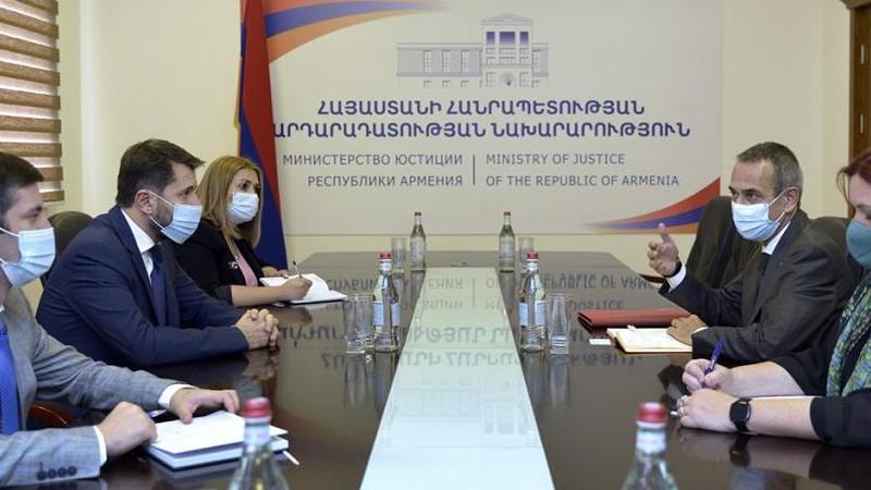 Ադրբեջանում պահվող հայ գերիների՝ ժամ առաջ հայրենիք վերադարձը ապահովելու համար Հայաստանը միջազգային գործընկերների ամուր աջակցության կարիք ունի. Կարեն Անդրեասյանը՝ ԿԽՄԿ պատվիրակության ղեկավարին