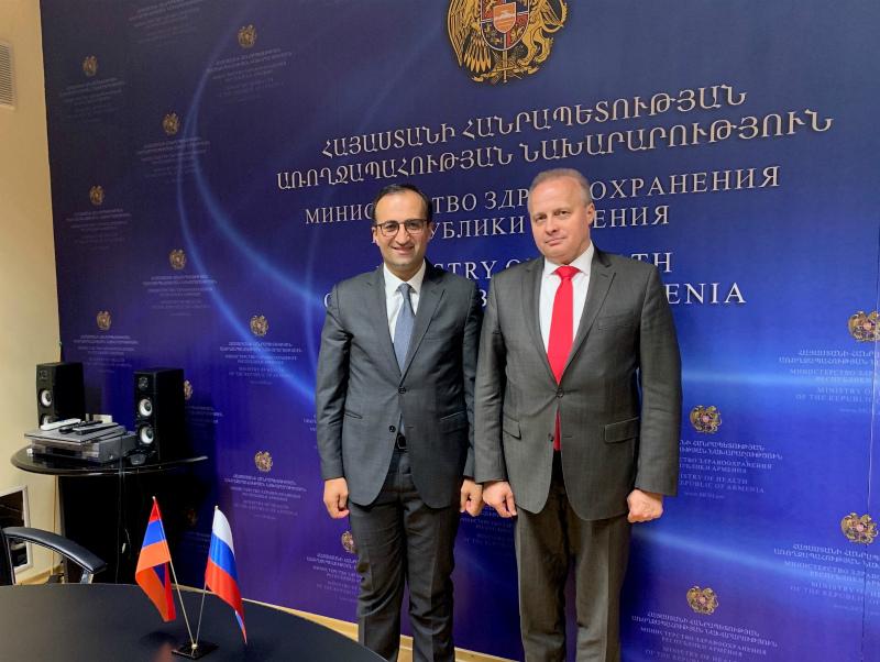 «Ռուսաստանի Դաշնության հետ համագործակցությունը խոր հիմքեր ունի». Արսեն Թորոսյան