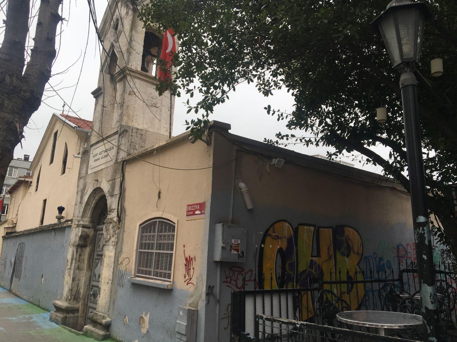 Թուրքիայում պղծել են հայկական Ծնունդ Սբ. Աստվածածին եկեղեցին (լուսանկարներ)