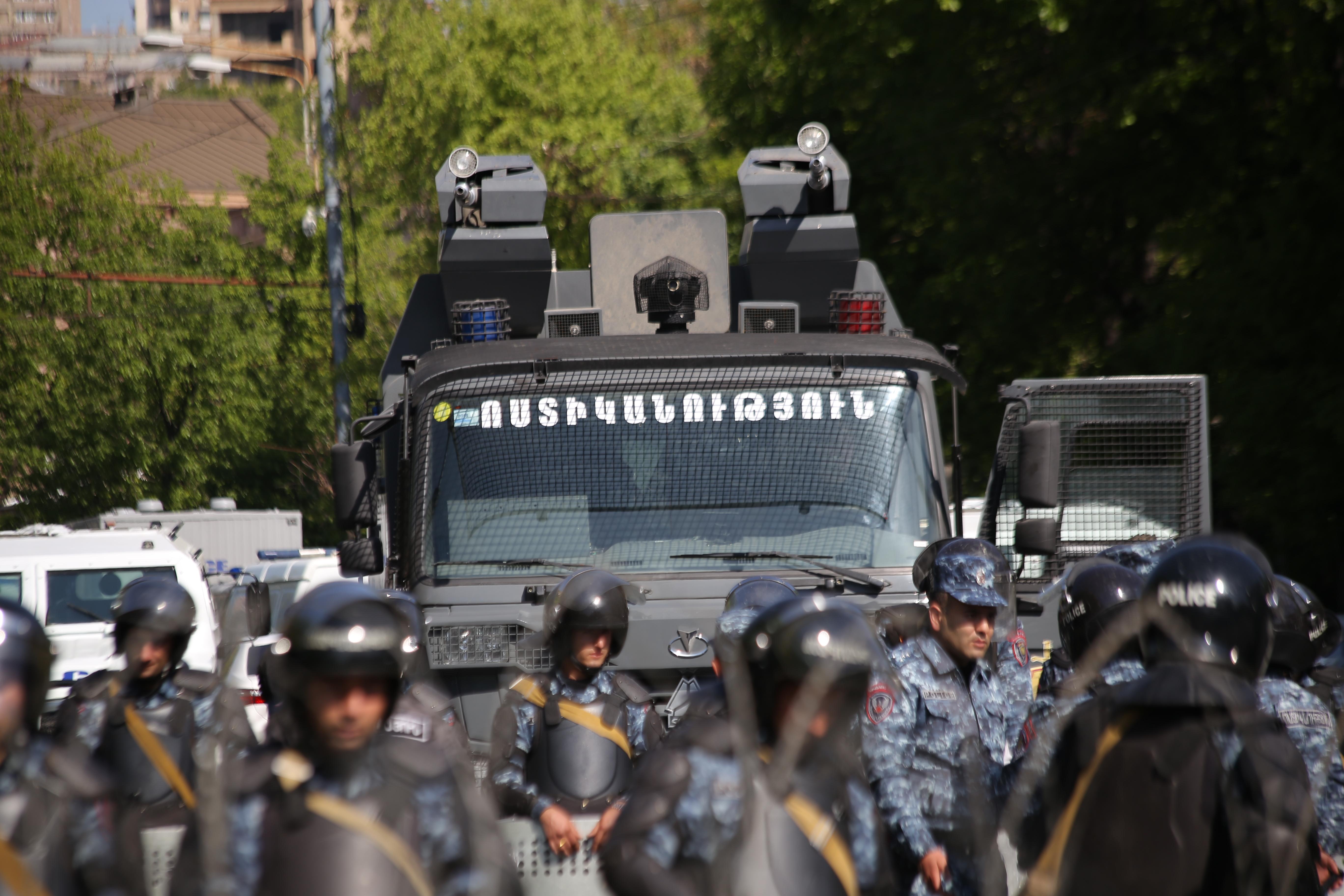 Ոստիկանները մեղադրվում են բռնություն գործադրելու մեջ. ՀՔԾ