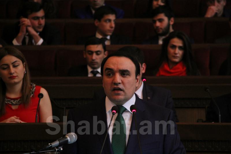 Артур Багдасарян возглавит список партии «Армянское возрождение»