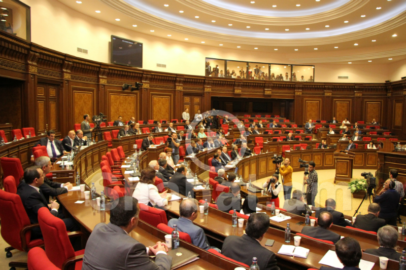 Внеочередное заседание Национального Собрания (прямой эфир)