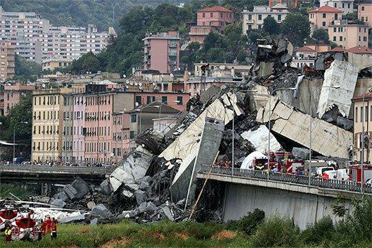 Իտալիայում որոշել են վերականգնել Ջենովայի կամուրջը